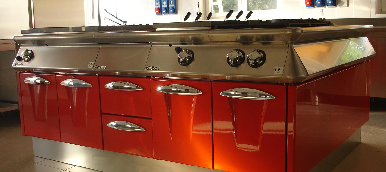 Cagif attrezzature per ristorazione padova vendita noleggio - Cucine professionali per casa ...