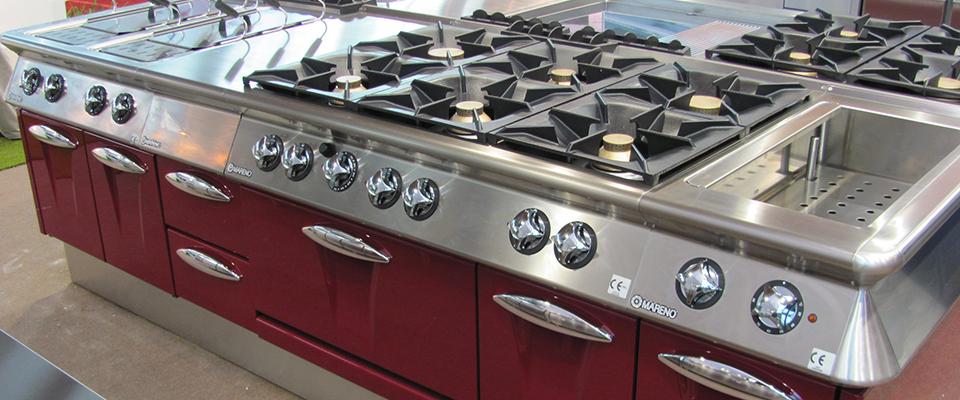 Noleggio attrezzature da cucina attrezzature alberghiere padova cagif - Cucine usate vicenza ...